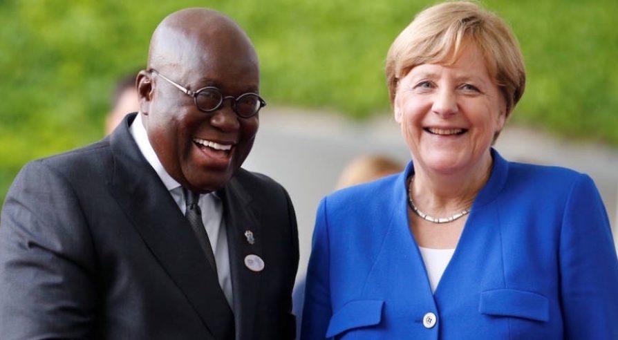 Angela Merkel Visits Impact Hub Accra