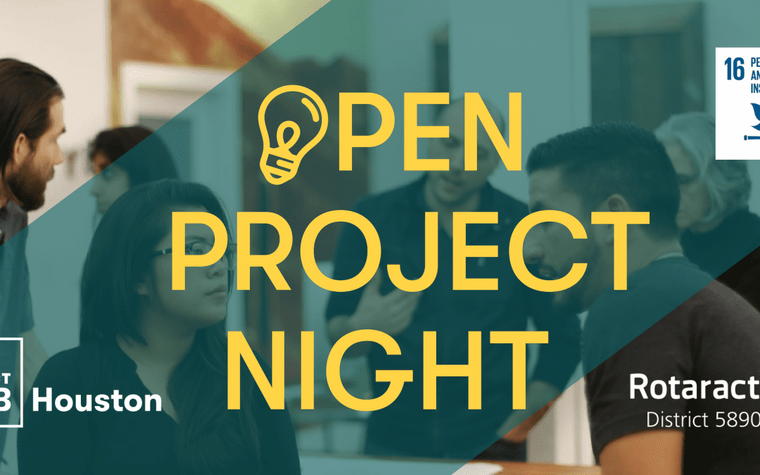 Open Project Night SDG 16: Peace, Justice and Strong Institutions