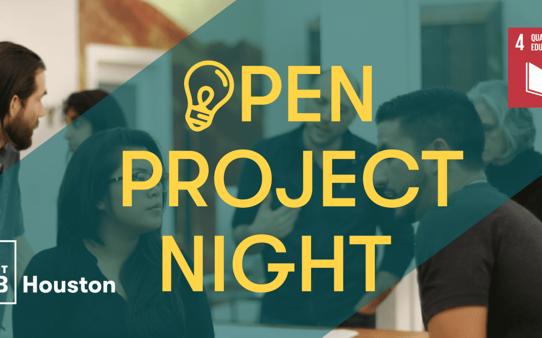 Open Project Night Focusing on SDG 4: Quality Education