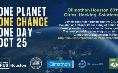 Climathon 2019: Hacking Solutions to Houston's Climate Challenges!