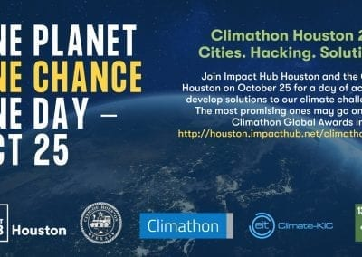 Climathon 2019 - One Planet