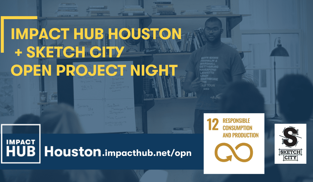 Open Project Night: SDG 12 Responsible Consumption & Production