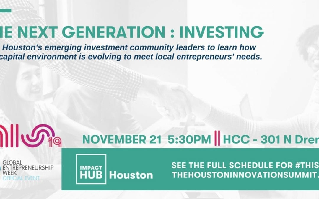 #THIS19 : The Next Generation: Investing