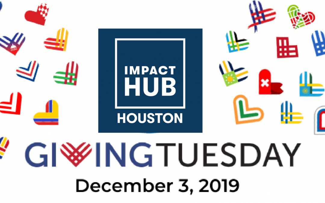 GivingTuesday Impact Hub Houston banner