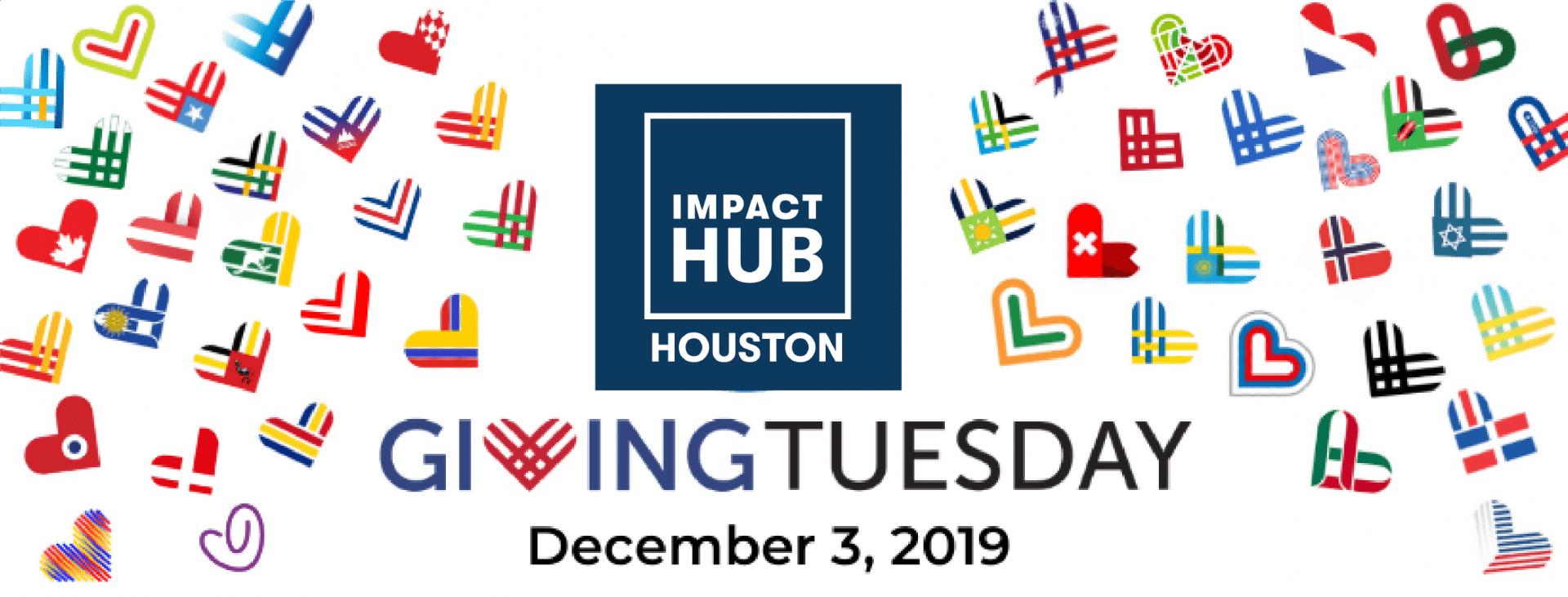 GivingTuesday Impact Hub Houston banner