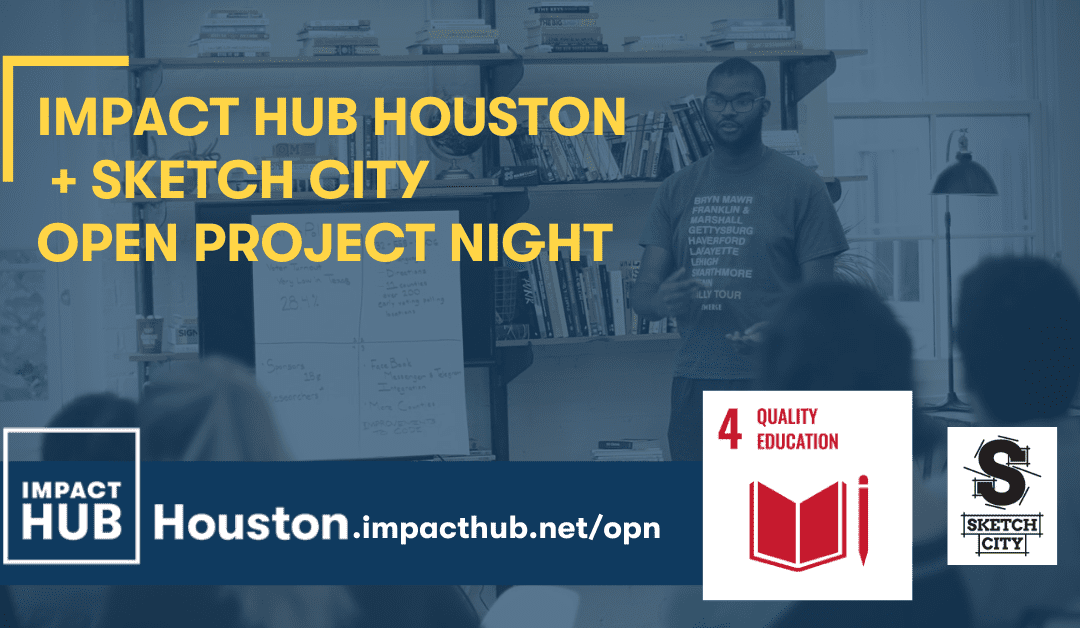 Open Project Night: SDG 4 Quality Education
