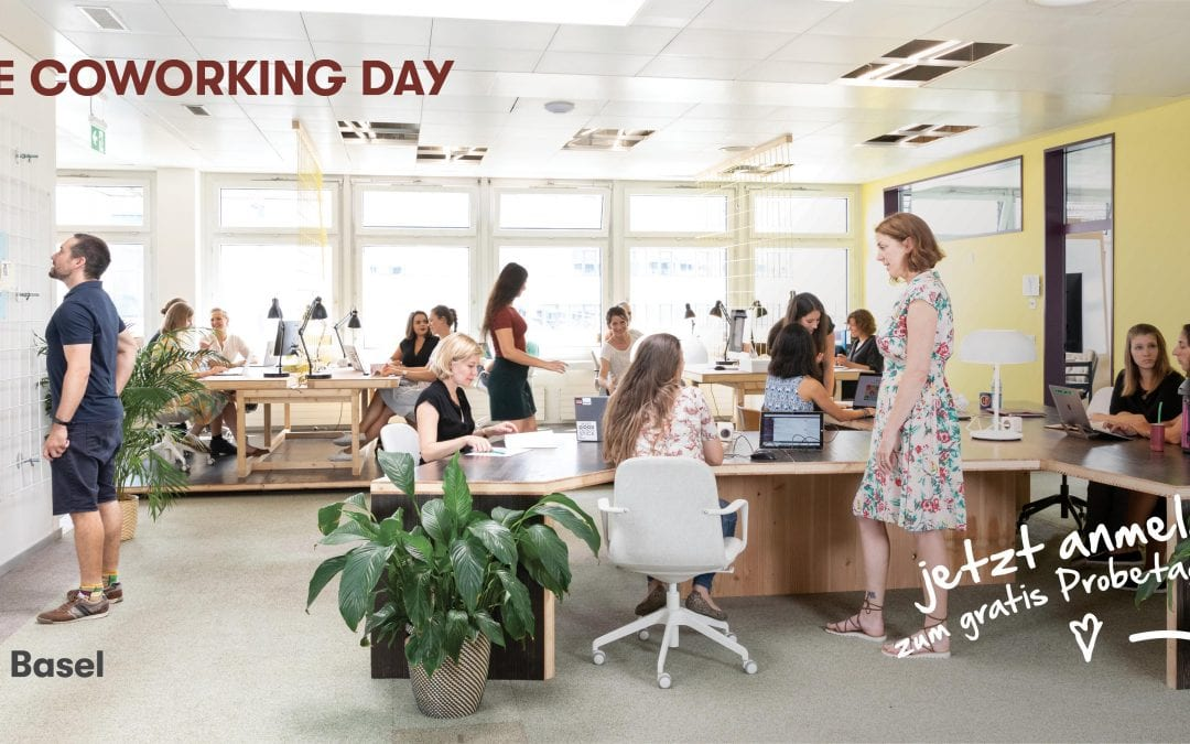 Free Coworking Trial Day at Impact Hub Basel