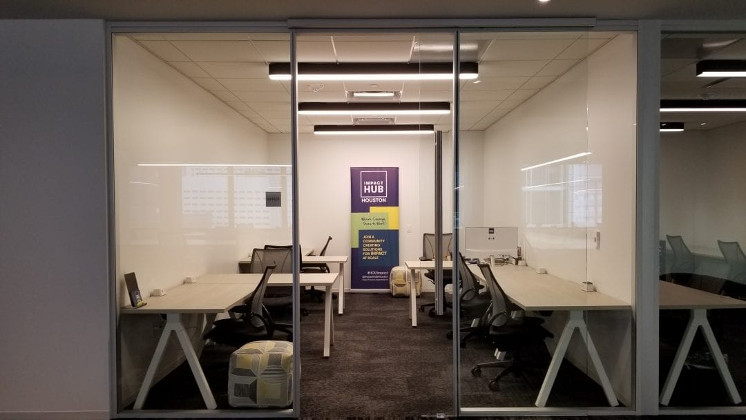 Impact Hub Houston Office @ Downtown Launchpad