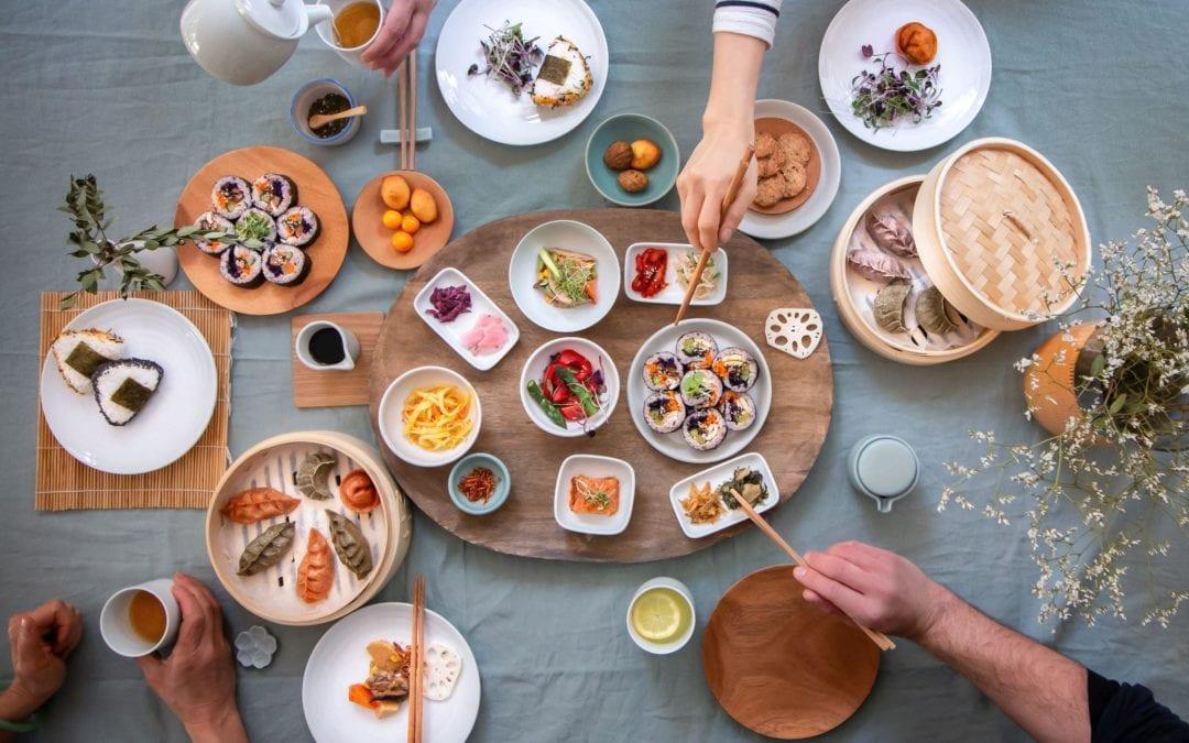 Let's cook Korean – Vegetarian Bibimbap